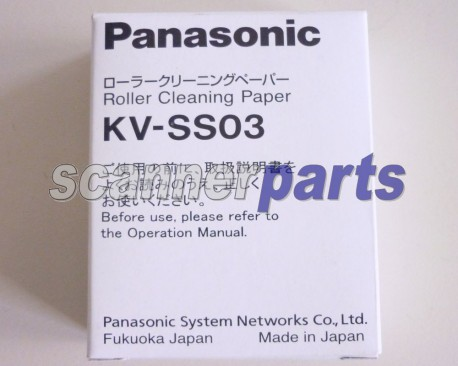 Panasonic Roller Cleaning Paper