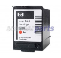 Red Ink Cartridge for Canon DR-6080C, DR-7580, DR-9080C, DR-X10C (with Imprinter)