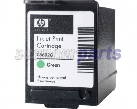 Green Ink Cartridge for Canon DR-6080C, DR-7580, DR-9080C, DR-X10C (with Imprinter)